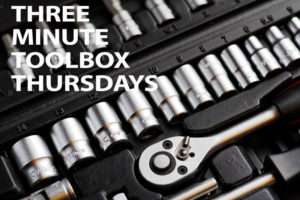 3 Minute Toolbox Thursdays
