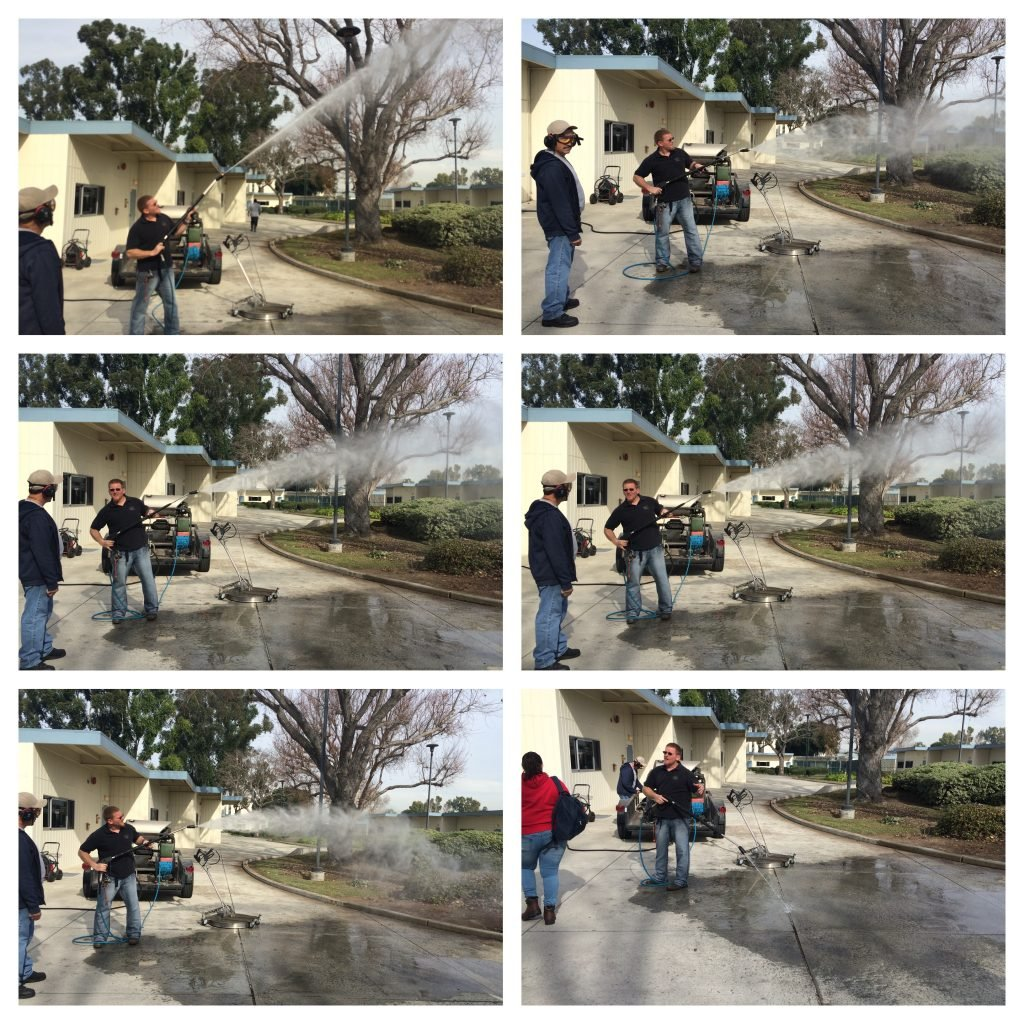 pressure washer training
